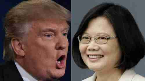 Trump and Tsai (South China Morning Post)