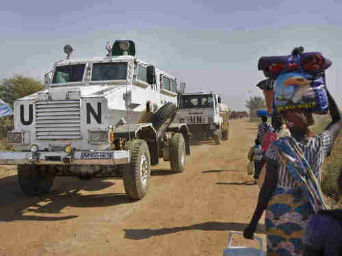 UN peacekeeping forces in South Sudan (AP)