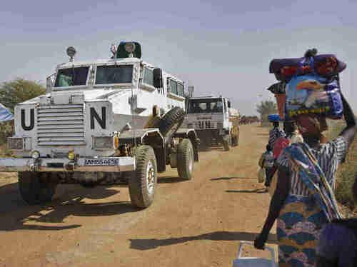 UN peacekeeping forces in South Sudan (AP)
