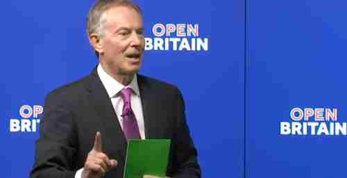 Tony Blair on Friday