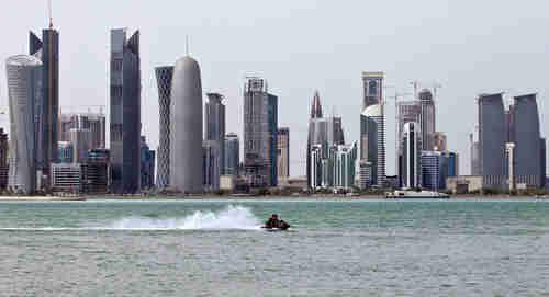 Doha, Qatar, skyline