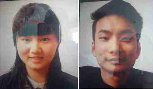 Pictures of Chinese couple that were executed by LeJA in Pakistan on Thursday, after being kidnapped on May 24