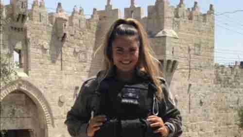 23-year-old Hadas Malka, Border Police officer killed on Friday evening
