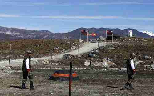 A military post on China - India border (India Today)