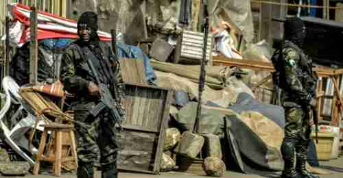 Cameroon Francophone security forces (AFP)