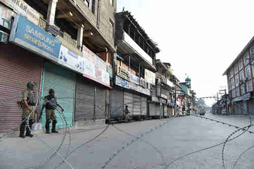 Complete shutdown of portions of Shopian district in Kashmir (PakToday)