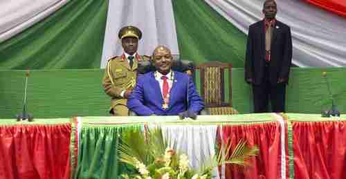 Burundi's Hutu president Pierre Nkurunziza has declared himself the 'eternal supreme guide' (AFP)