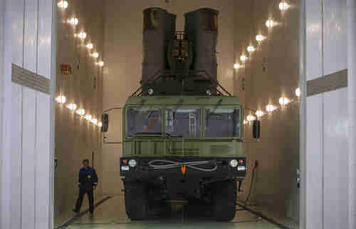 Russia's advanced S-400 anti-aircraft system (Tass)