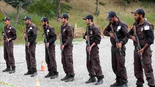 Syrian police trainees in Turkey (Anadolu)