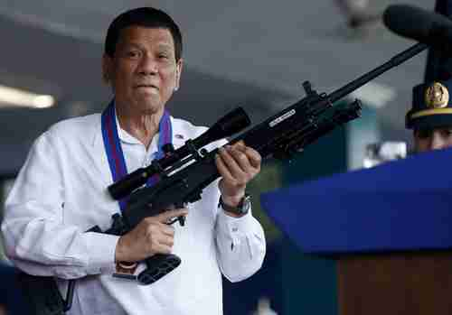 Philippine President Duterte warns China over South China Sea development (AP)