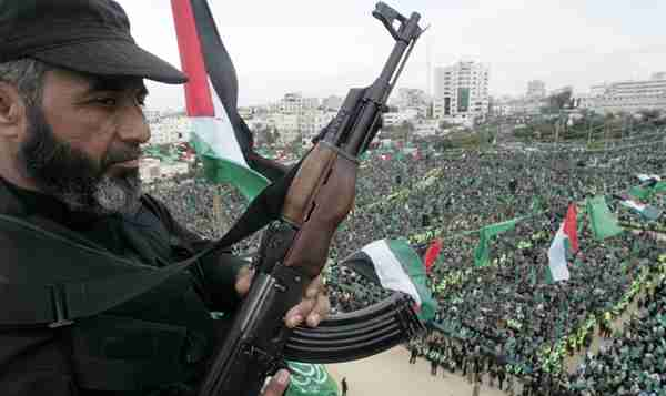 Hamas rally in Gaza