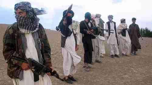 Afghan Taliban militants (AFP)