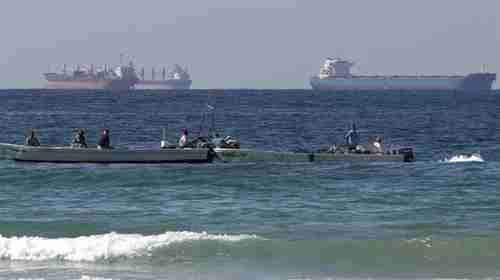 File photo of vessels sailing in Bab al-Mandeb Strait