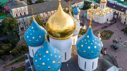Putin's dream of an 'Orthodox Vatican' would be a major tourist and religious center in the city of Sergiev Posad, northeast of Moscow (BBC)