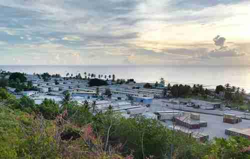 Nauru immigration camp (AAP)