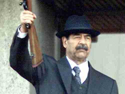 Saddam Hussein in 2000 (AFP)