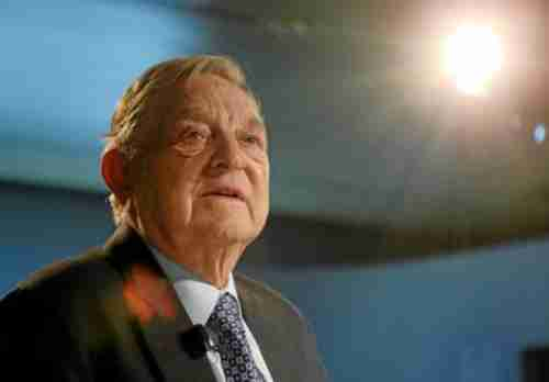 George Soros last week at World Economic Forum (WEF)