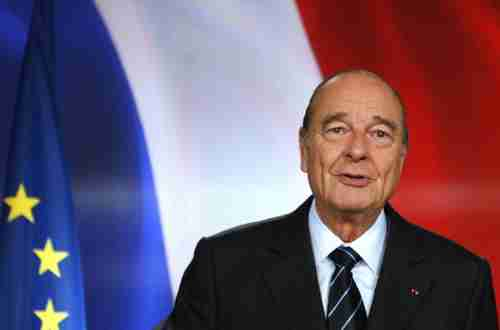 Jacques Chirac on March 11, 2007, shortly before stepping down as president.  After leaving office, he was found guilty of misuse of public money, breach of trust and illegal conflict of interest (RFI)