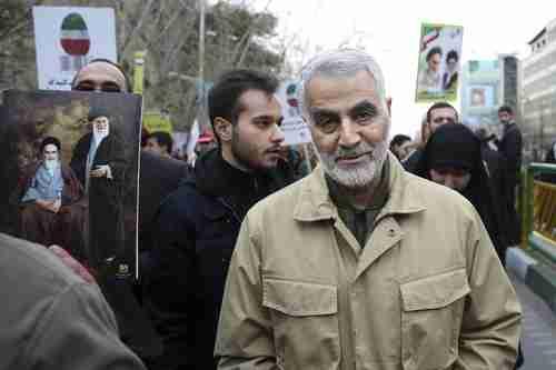 Gen. Qassim Soleimani (when he was alive) (AP)
