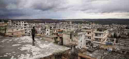 The view from Idlib, Syria (Ahval)