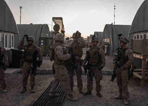 American Marines in Afghanistan (Getty)