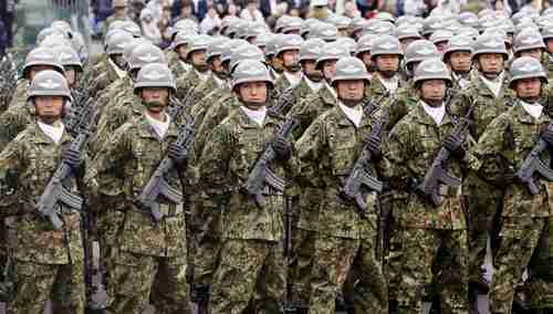 Japan's Self-Defense Forces (KYODO)