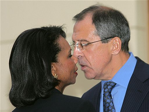 Condoleezza Rice says goodbye after visiting Moscow <font size=-2>(Source: Reuters)</font>
