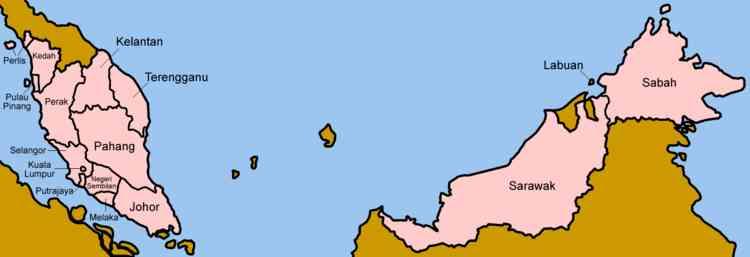 Malaysia provinces