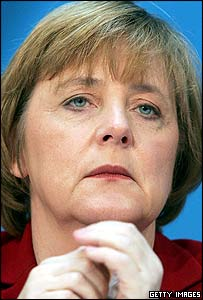 Angela Merkel, CDU leader <font size=-2>(Source: BBC)</font>