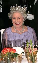 Queen Elizabeth <font size=-2>(Source: Telegraph)</font>