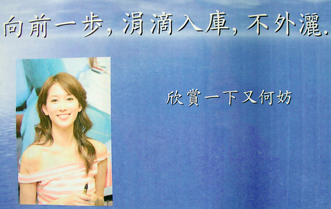 Lin Chi-ling <font size=-2>(Source: Taipei Times)</font>