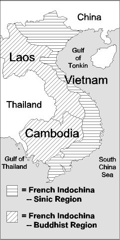 French Indochina: Vietnam, Cambodia, Laos