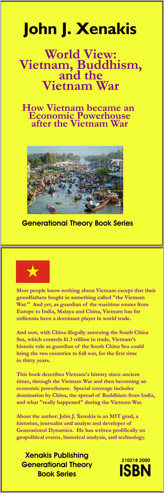 Front and back covers of forthcoming book on history of Vietnam