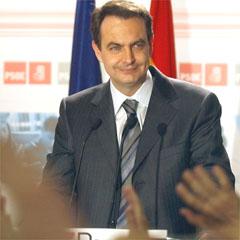 In: Socialist Jose Luis Rodriguez Zapatero (AP)
