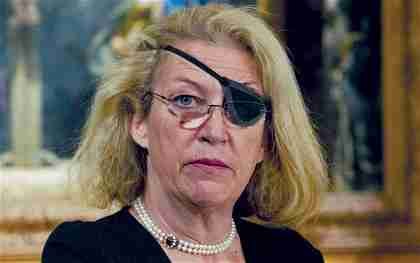 Marie Colvin. She lost her left eye while reporting on the Sri Lanka civil war in 2001