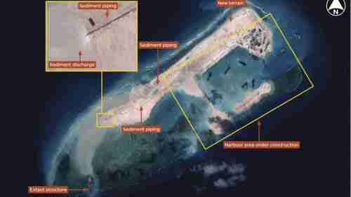 World View: China Builds More ManMade Islands in the South China Sea