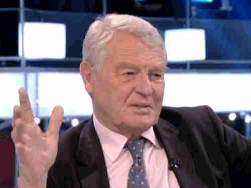 Paddy Ashdown promises to eat his own hat, even though he isn't wearing a hat.  He still hasn't kept his promise.