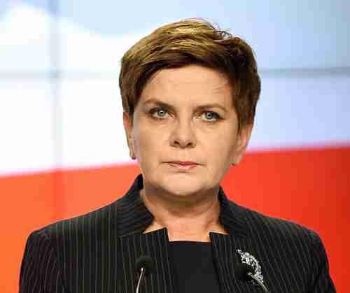 Poland's new Prime Minister Beata Szydlo (AFP)