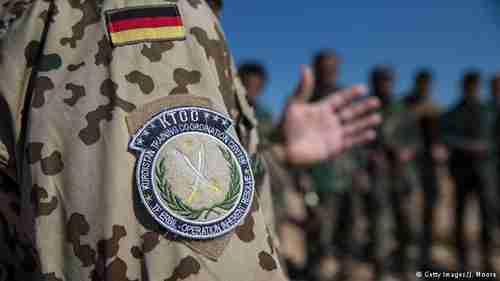 German troops in Iraq are already training the Kurdish Peshmerga (DW)