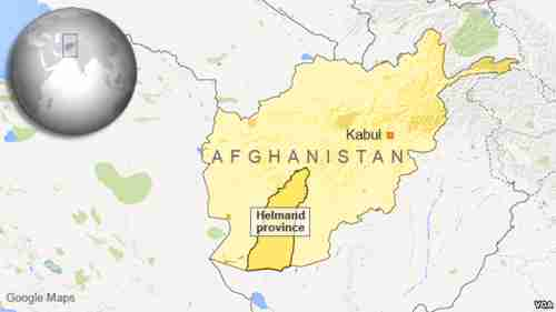Afghanistan's Helmand province is being overrun by Taliban, dealing withdrawal strategy a setback (VOA)