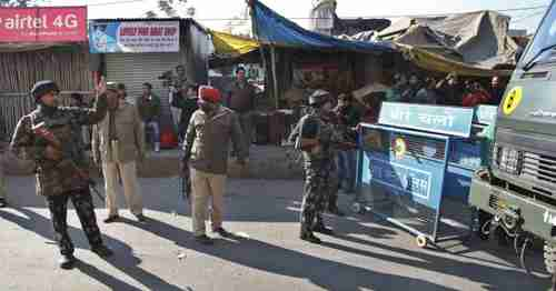 Aftermath of terror attack on Pathankot air base (AP)