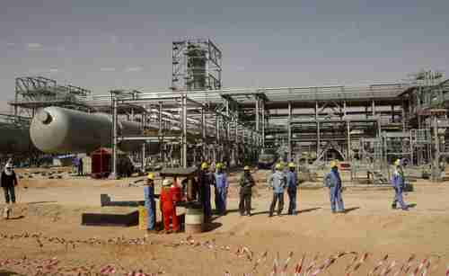 Saudi Arabia's Khurais oilfield (Reuters)
