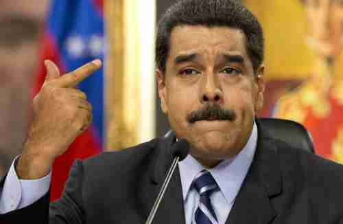 Nicolás Maduro on Tuesday (AP)