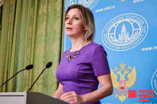 Maria Zakharova, Russia's hot Foreign Ministry spokeswoman, warns of 'tectonic shift' in Mideast