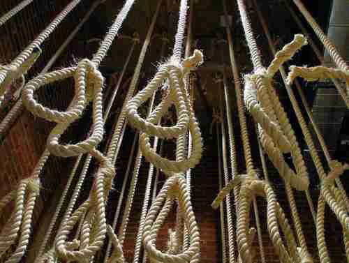 Each week, up to 50 people at the Saydnaya prison were taken out of their prison cells for arbitrary trials, beaten, then hanged (AFP)
