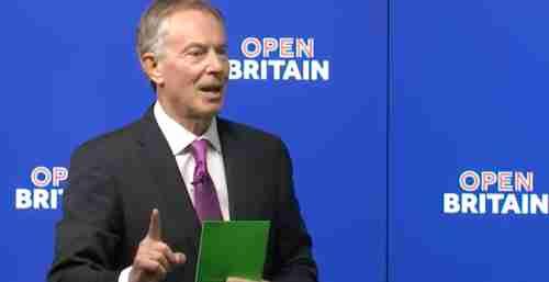 Tony Blair on Friday